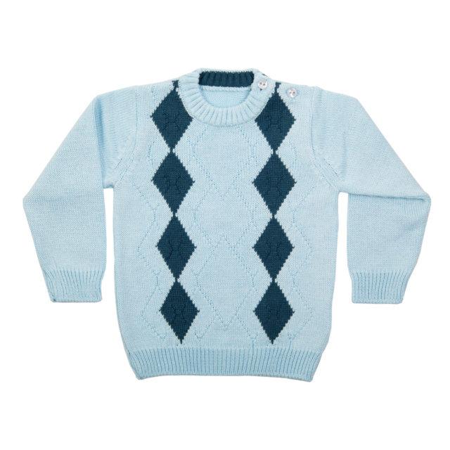 """Пуловер """"Ромбове"""""""
