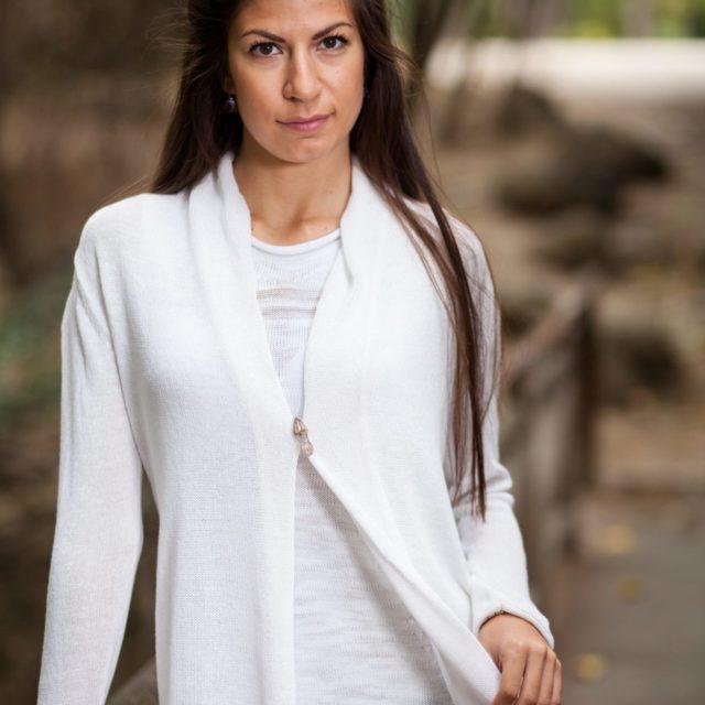 финна плетена жилетка