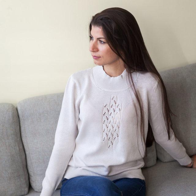 Пуловер Кейтлин в бежово