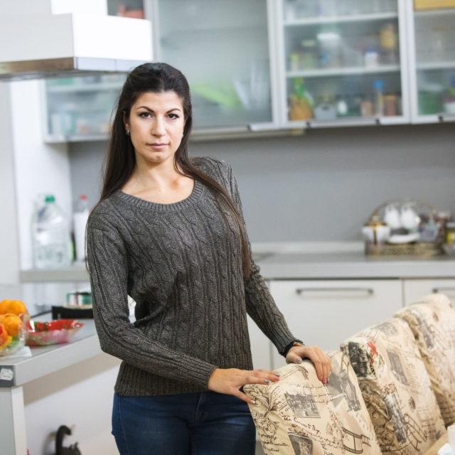 Пуловер Кали в сиво 2