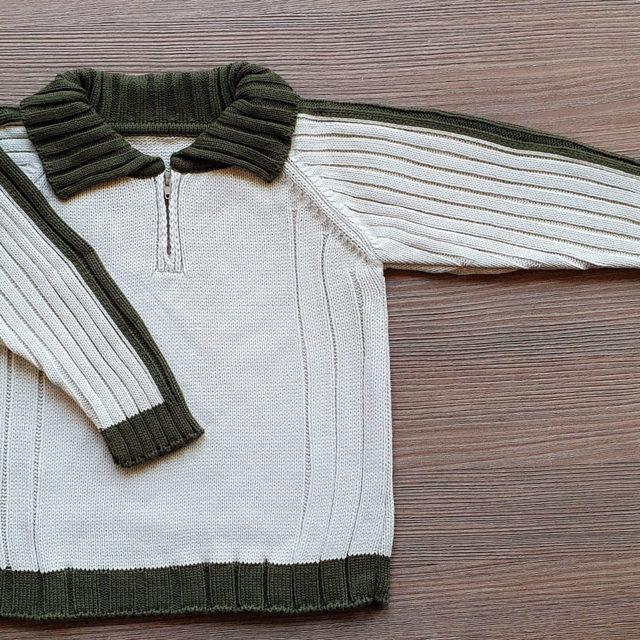 Пуловер с цип
