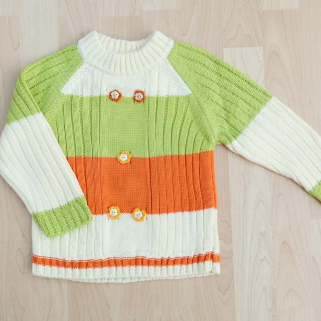 "Пуловер ""Цвете"""