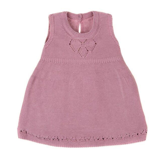 бебешка плетена рокля