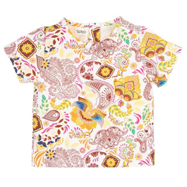 Тениска с принт за момиче